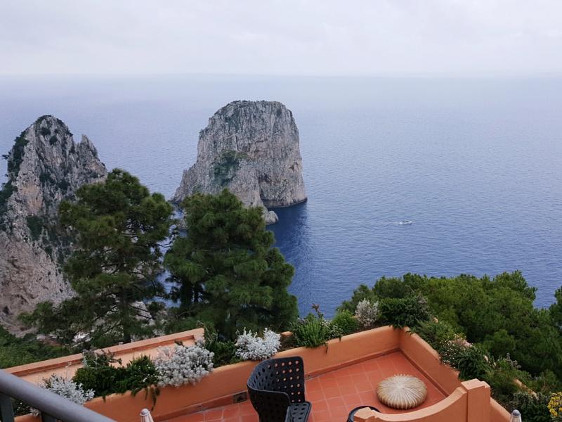 Punta Tragara Hotel view Capri