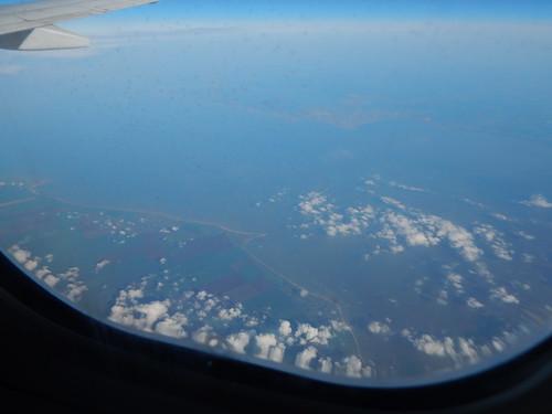 береговая линия в Крыму из самолёта | horoshogromko.ru