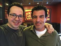 Fede con Gustavo Rosa