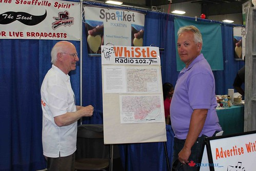 Stouffville Home Show - Whistle Radio | by stouffville_media