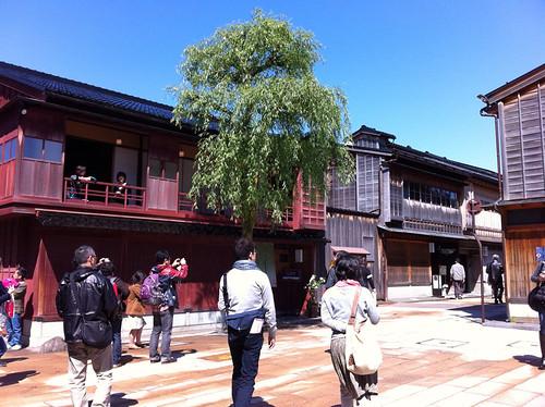 Kanazawa gold streets