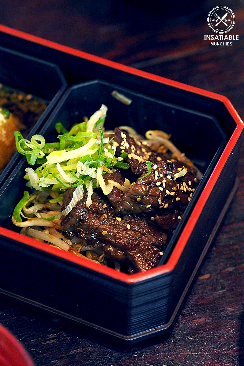 Restaurant Review: Yebisu Izakaya, Sydney CBD. Beef Short Ribs (part of Hokkaido Gozen Bento)