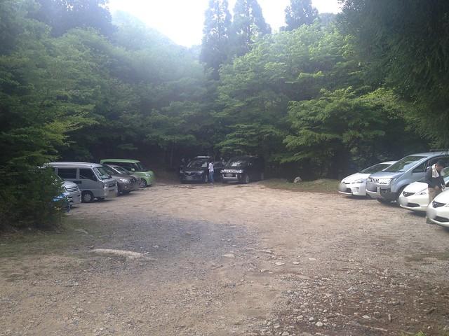 雨乞岳 武平トンネル西駐車場