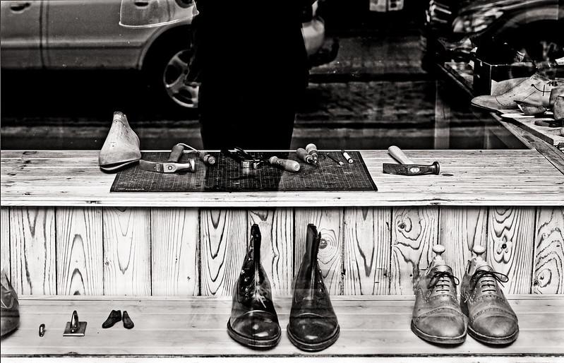 the shoemaker // dresden neustadt