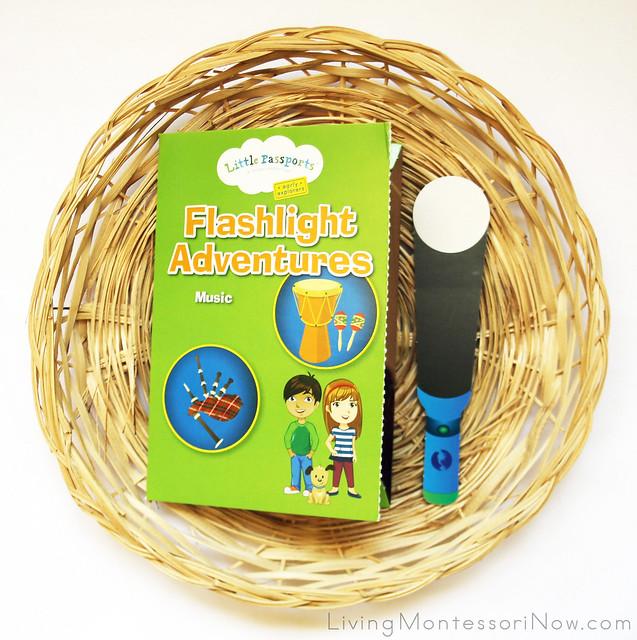 Hidden Musical Instruments Flashlight Adventures Tray