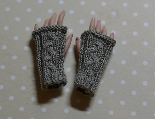 fingerless gloves | by pechenuha1