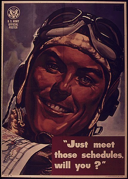 World War II Poster - Just meet those schedules
