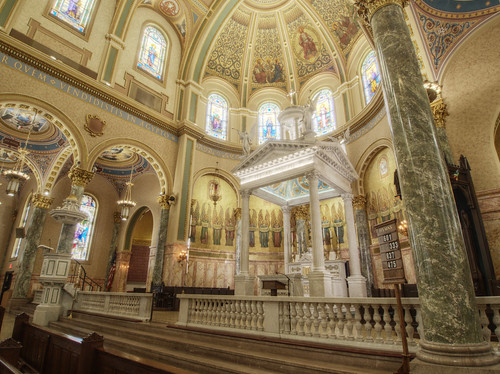 Chancel of Co-Cathedral of St. Joseph, Brooklyn
