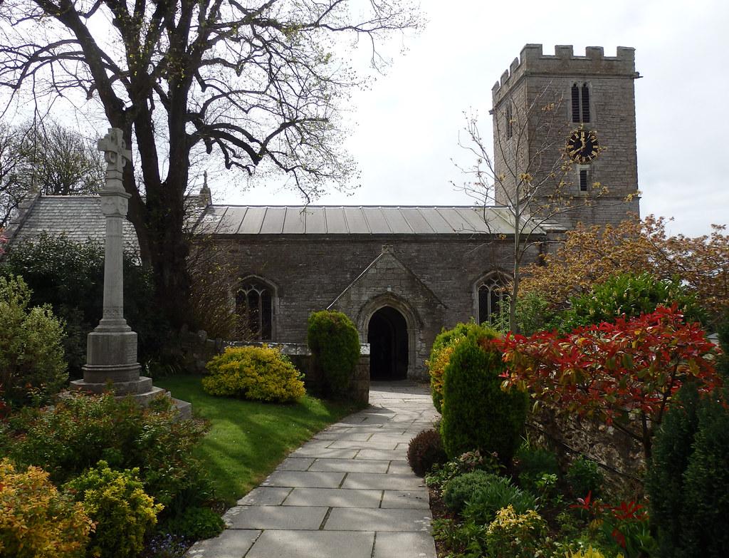 A 14th Century Cross St Andrews Church, Pre...