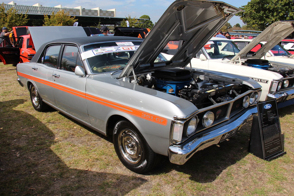1972 Ford Xy Fairmont Gt Sedan Silver Fox From 1970 To