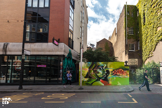Shoreditch Street Art - MrCenz