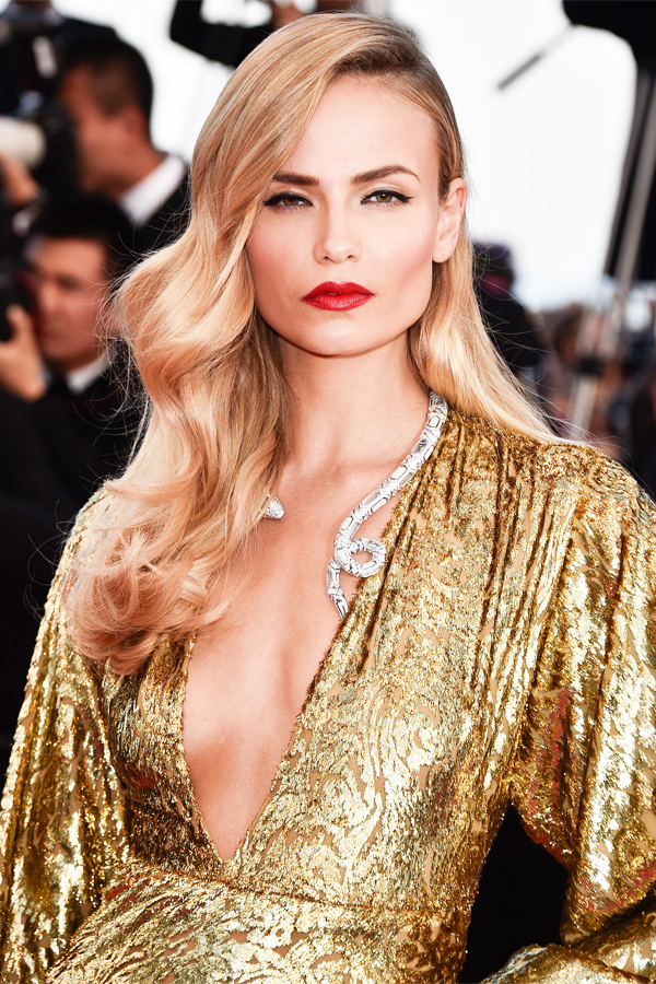 Natasha Poly Cannes 2015 Best Beauty Looks