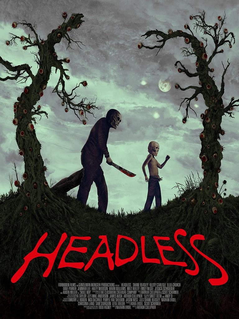 Aeron Alfrey - Headless Poster