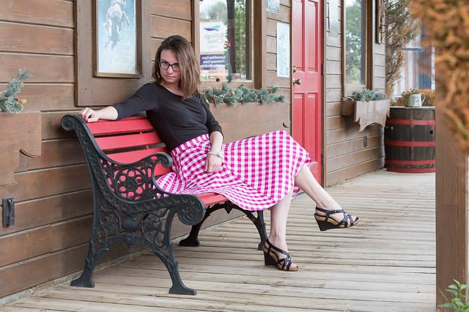 checkeredskirt