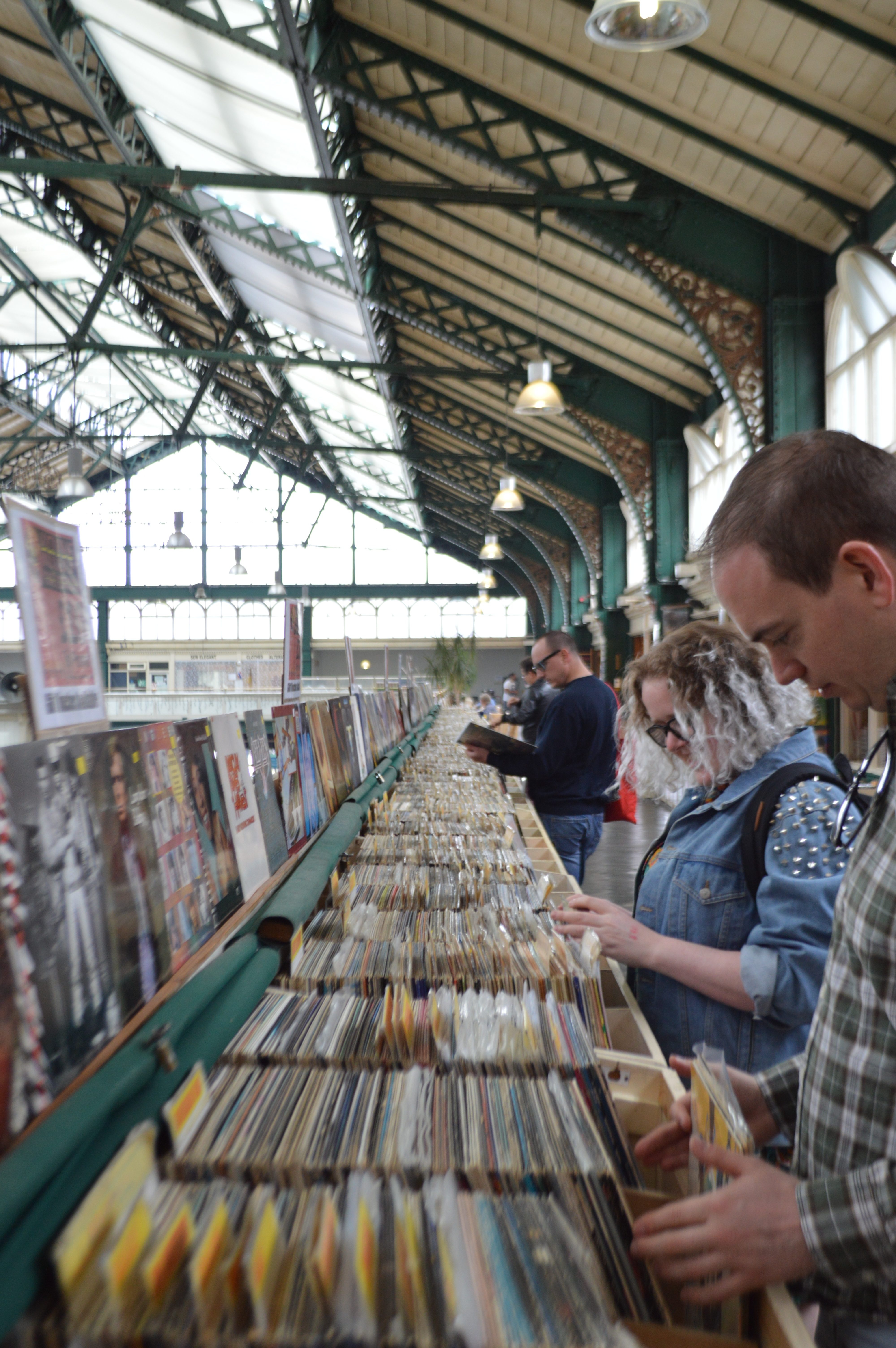 Cardiff Indoor Market Kelly's Records