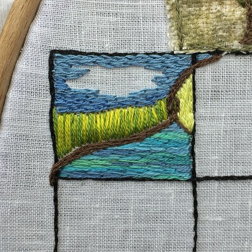 Jun 7/15 #embroidery #embroideryart #broderie | by obliquepoet