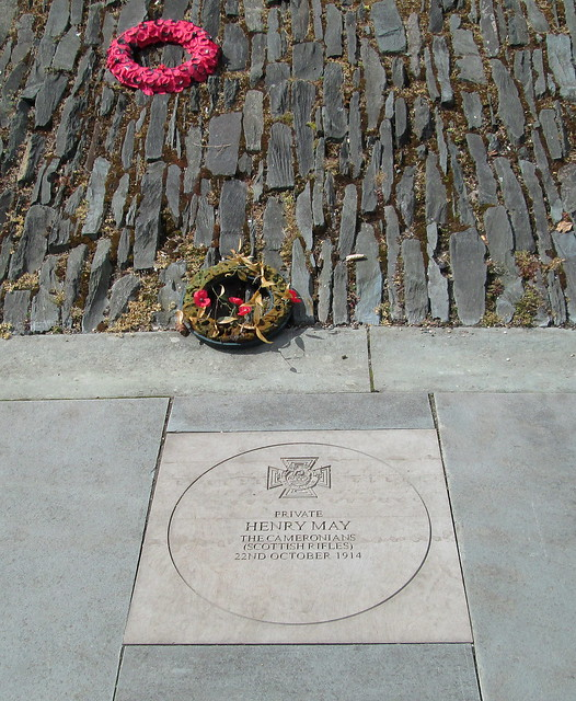 Glasgow Green Memorial Stone