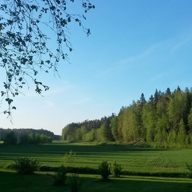 kesä, Kokemäki, Suomi