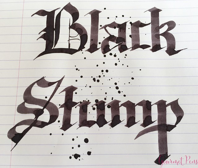 Ink Shot Review Blackstone Black Stump @AndersonPens 7