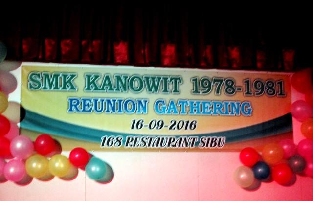 SMK Kanowit reunion September 2016