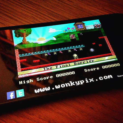 Manic Miner on iPhone!  #ManicMiner an old time classic! | by jason.brooks