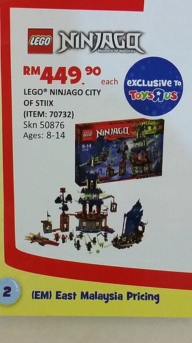 LEGO Ninjago City of Stiix (70732)