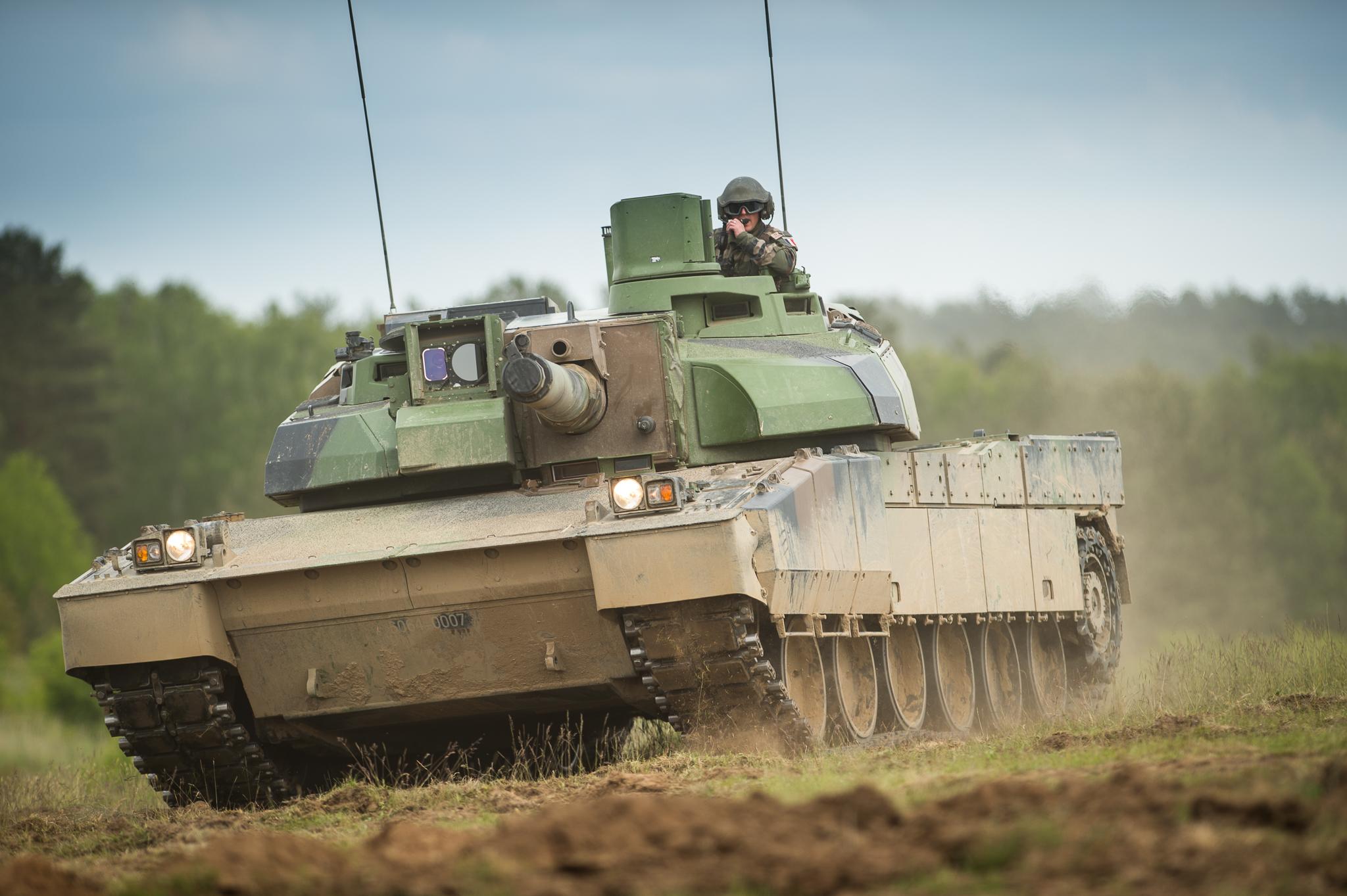 French Army AMX-56 Leclerc