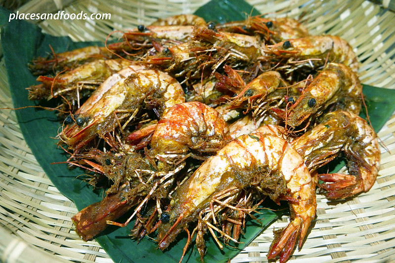 traders hotel kl gobo chit chat goreng goreng fried prawns