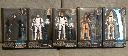 "Star Wars Black Series 6"" June '15 haul...."