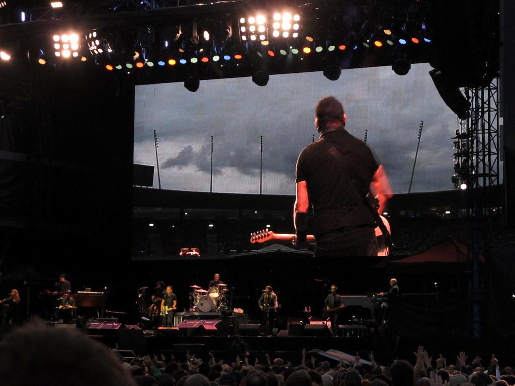 Bruce Springsteen The E Street Band Konzert Concert An Flickr
