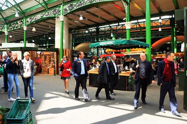 Il borough market, luogo di cibi e profumi