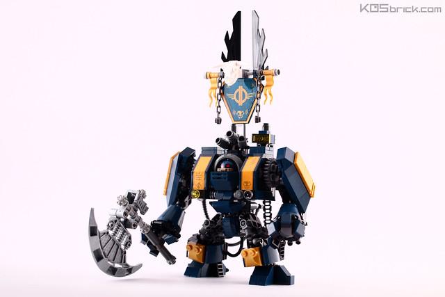 Warhammer 50K - Mech Axe