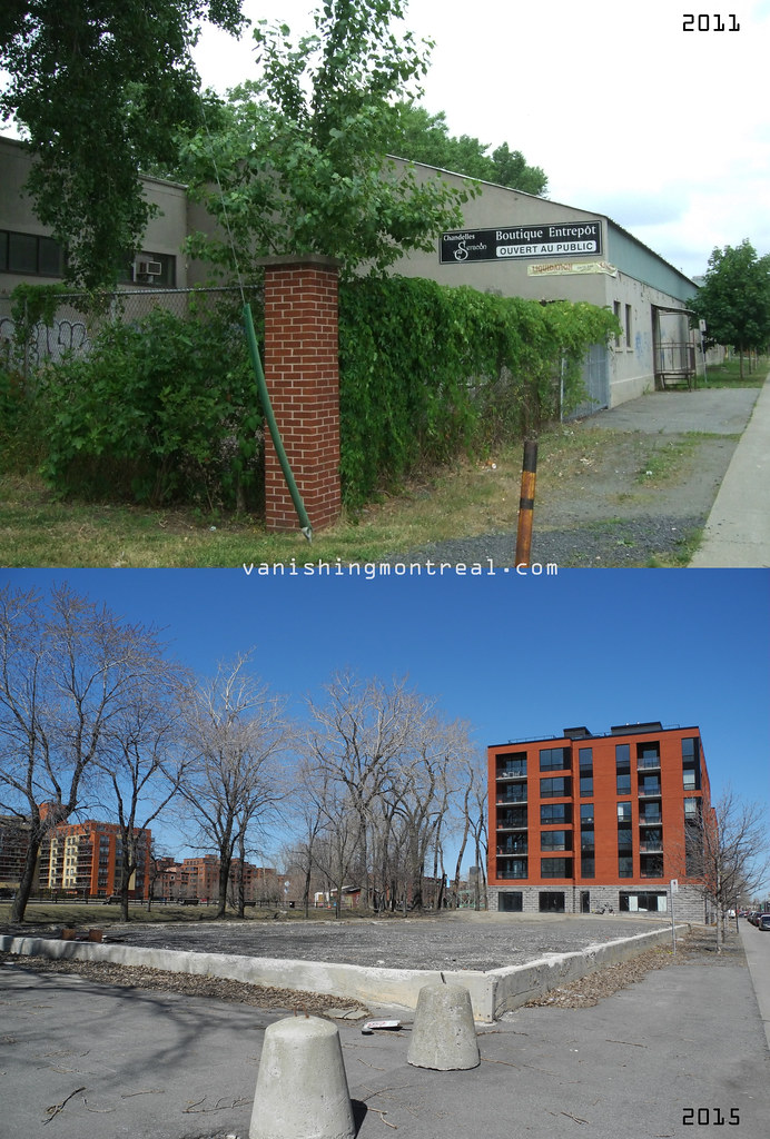 Before / After : Seracon building on St Patrick