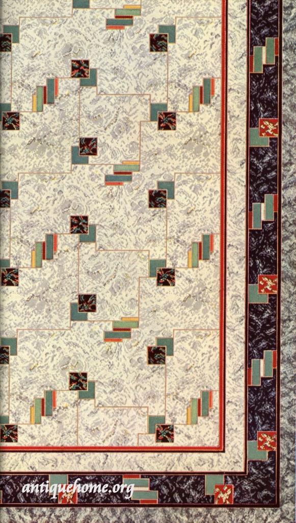 ... 1942 Congoleum || Vintage Linoleum Rugs | By Daily Bungalow