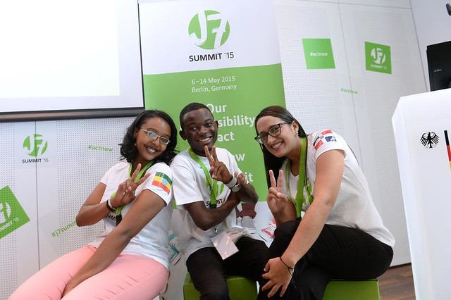 Delegates of the J7 Youth Summit develop recommendations around key global issues to bring forward to the G7 summit 2015.