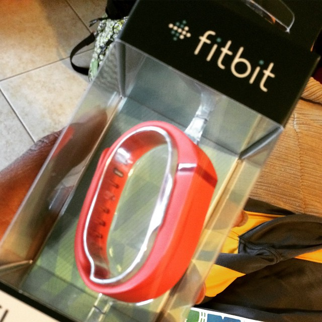 Back in the @fitbit game. This is the 3rd one in 10 months. Here's hoping this one will last. I want to believe in the product but this might be a problem. I'll keep you posted. #getmysteps #fitbit #getmoving #fitness #active