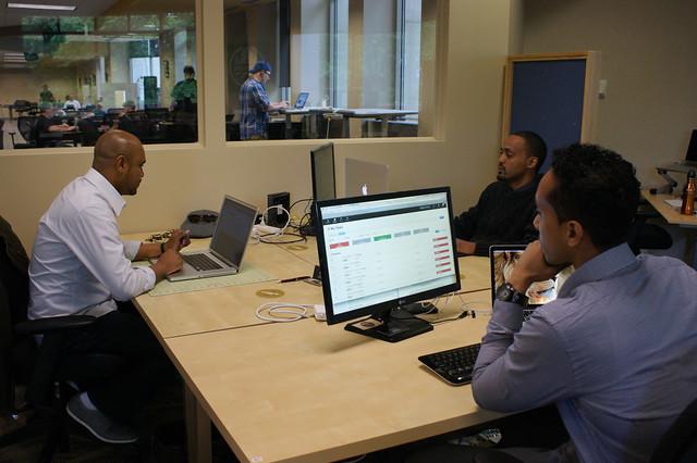 Reborn Code team at work