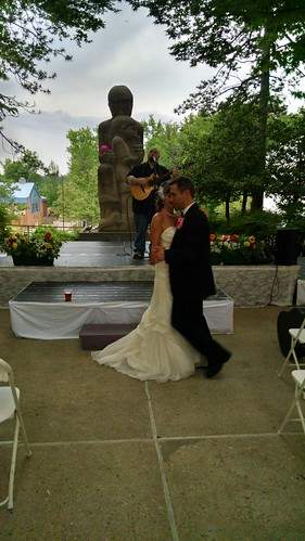The Wedding Reception at the Crazy Quilt Music Festival