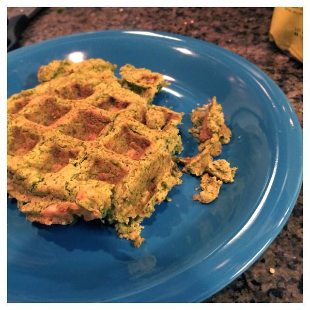 Falafel waffle