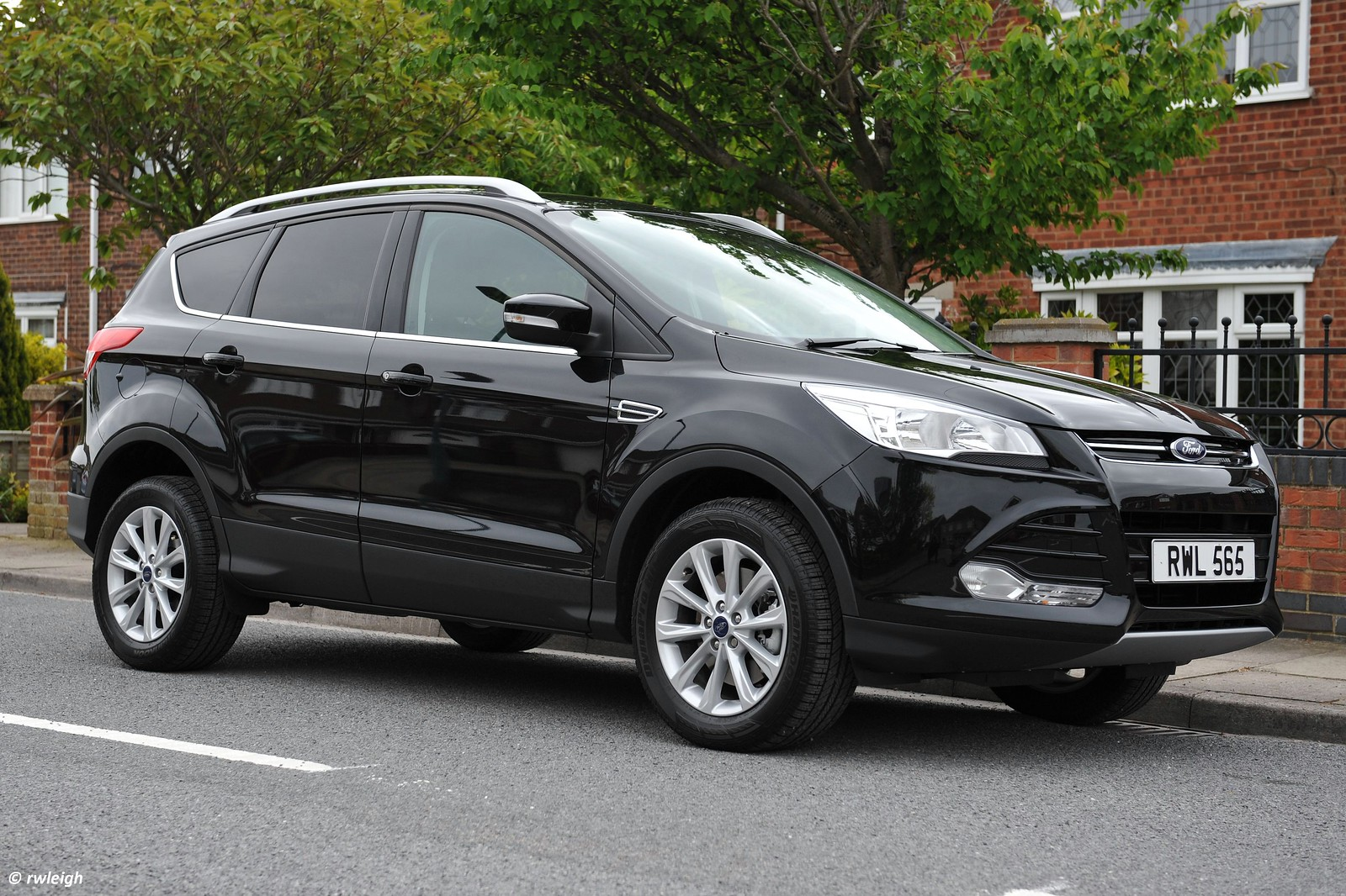 Personally i think they look best in black kuga titanium