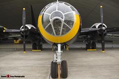 44-61748 G-BHDK - 11225 - IWM Imperial War Museum - Boeing TB-29A Superfortress - Duxford, Cambridgeshire - 150523 - Steven Gray - IMG_1167