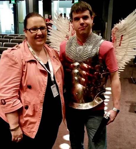 me and Dogma angel
