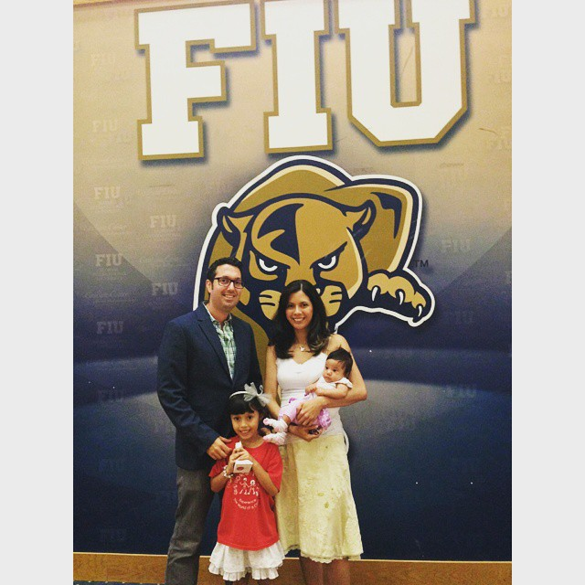 My little FIU graduate!