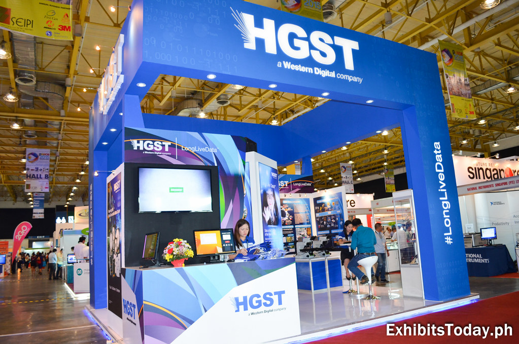 HGST Tradeshow Booth