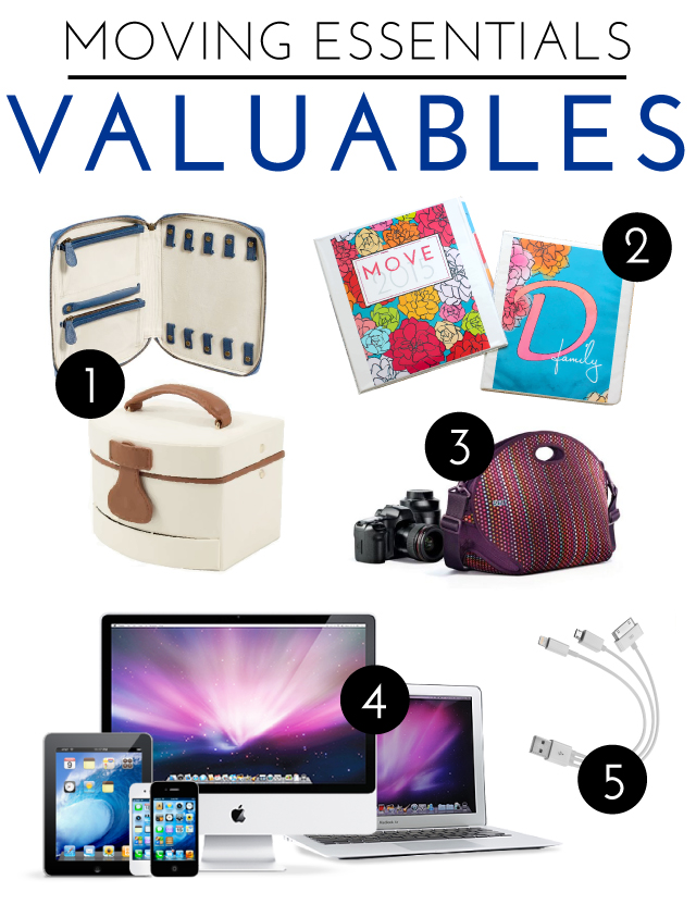 Moving Essentials | Valuables