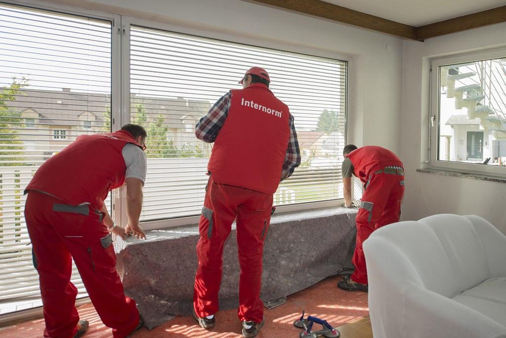 Internorm fenstertausch sauberkeit fotocredit internorm for Internorm forum