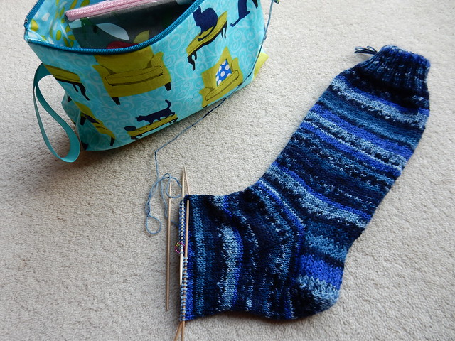 Mr JK's Stollberg sock WIP