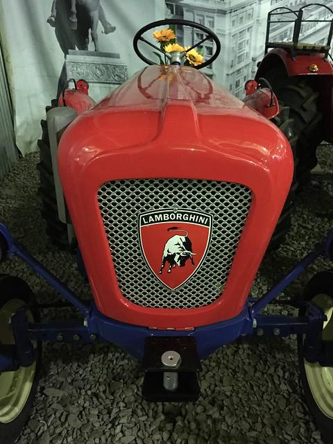 Трактор Lamborghini 1958