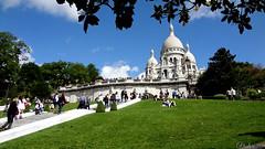 Basilique du Sacré Cœur. Paris. Farnce