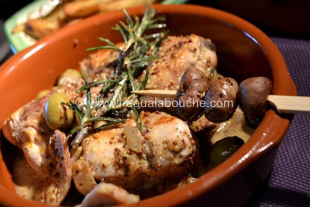 Rables de Lapin à la Moutarde et aux Olives © Ana Luthi  Tous droits réservés 25